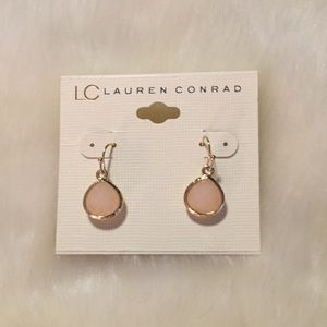 Lauren Conrad Gold Fashion Earrings
